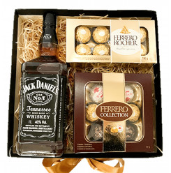 Caixa Whisky e Chocolates - Ref. F974