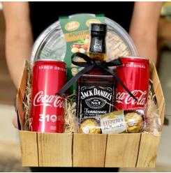 Cesta Jack & Coke - Ref. F902