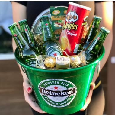 Balde Grande 7L de Heineken - Ref. F957