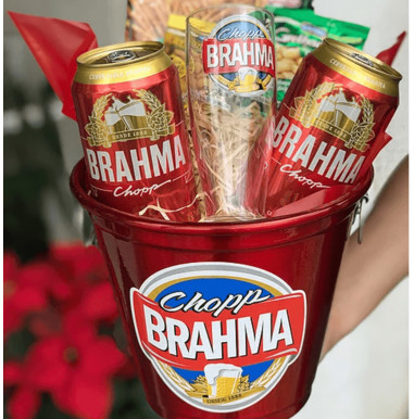 Balde de Cerveja Brahma - Ref. F009