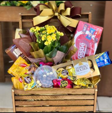 Baú com Chocolates - Ref. FDN0018