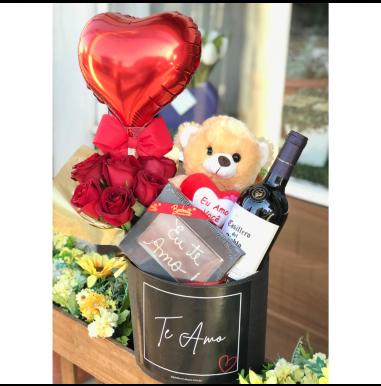 Box Vinho e Urso - Ref. FDN005